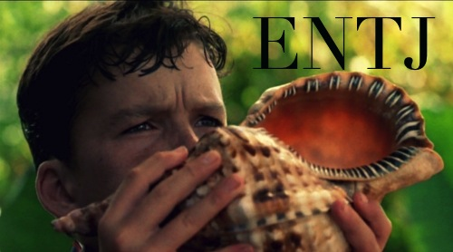 Ralph ENTJ | Lord of the Flies MBTI