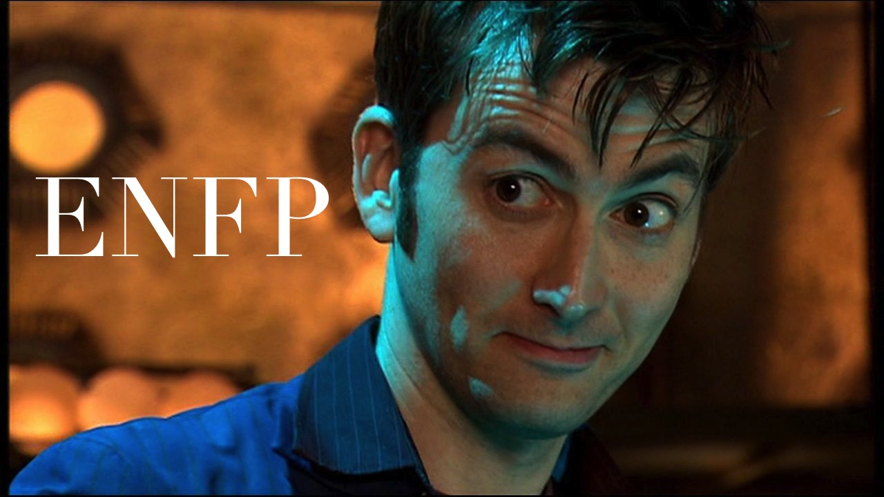 Tenth Doctor: ENFP – The Book Addict's Guide to MBTI: