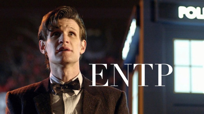 11th Doctor ENTP Doctor Who MBTI