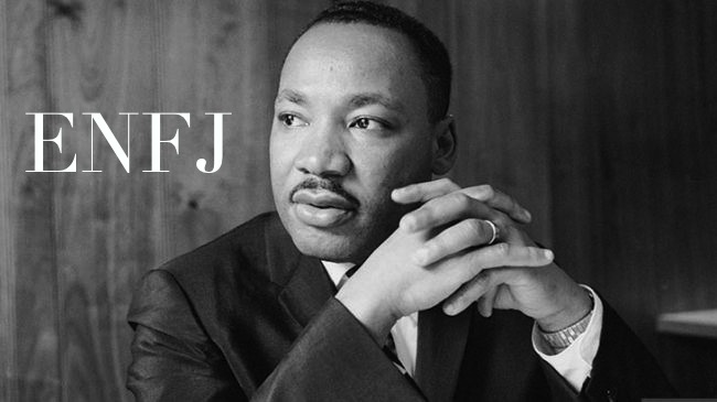 Martin Luther King ENFJ | MBTI