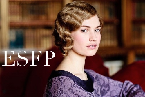 Rose McClare ESFP | Downton Abbey MBTI