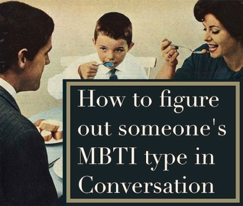 How to figure out someone's MBTI type in a conversation |#MBTI