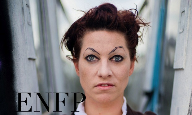 Amanda Palmer ENFP | The Book Addict's Guide to MBTI #ENFP