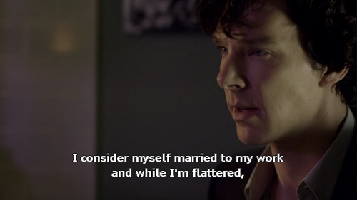 Sherlock as an Asexual Character
