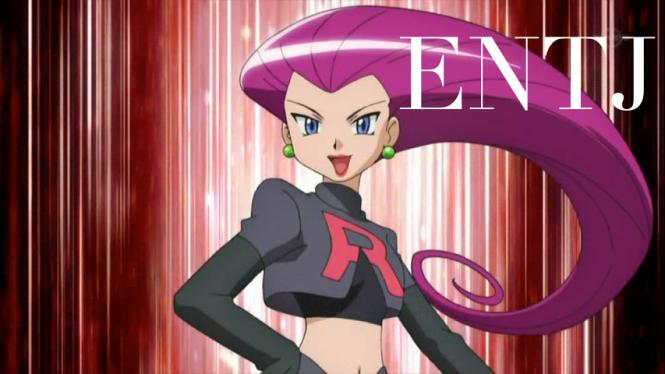 Jessie ENTJ | Pokemon #MBTI #ENTJ