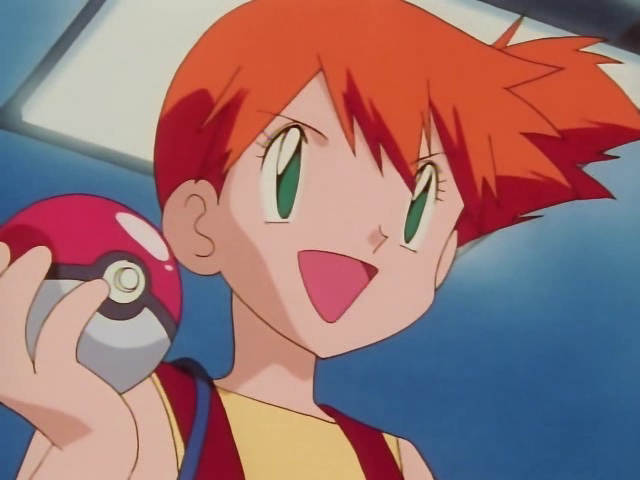 Misty ENFJ | Pokemon #MBTI #ENFJ