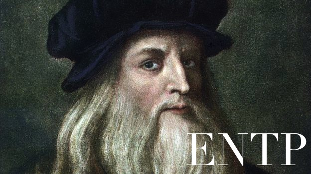 Leonardo da Vinci ENTP | The Book Addict's Guide to MBTI #ENTP