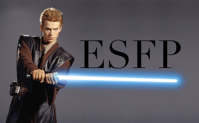 Anakin Skywalker ESFP | Star Wars #MBTI #ESFP
