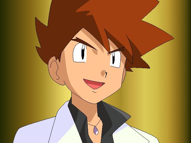 Gary Oak ENTJ |Pokemon #MBTI #ENTJ