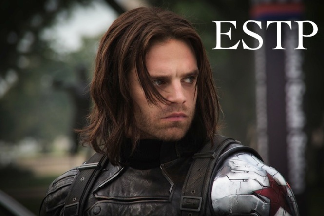 Bucky Barns - The Winter Soldier ESTP | Marvel #MBTI #ESTP
