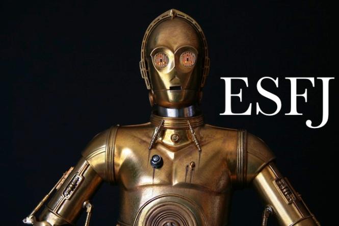 C-3PO ESFJ | Star Wars #MBTI #ESFJ